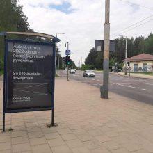 Kaunas į VGTU reklamas atsakė ir Vilniuje: kviečia čia atvykti ir pasilikti visam gyvenimui