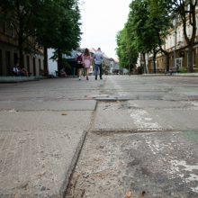 Prireiks kantrybės: darbų įkarščiui ruošiasi likusi Vilniaus gatvės dalis
