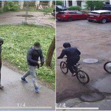 Laimikiu džiaugėsi neilgai: Kaune sulaikyti dviračių vagystėmis įtariami vyrai