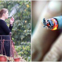 Siūlo bausti butų savininkus, slepiančius rūkančiųjų balkonuose tapatybes