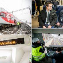 Pagaliau: atnaujintas traukinių eismas tarp Vilniaus ir Kauno
