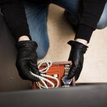 Biržuose pavogta juvelyrinių dirbinių ir kito turto, nuostolis – 19 tūkst. eurų