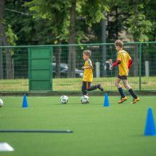 Daugiau dėmesio futbolui: dvi sporto mokyklos bus apjungtos į vieną organizaciją