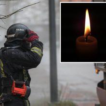 Kauno ligoninėje mirė per gaisrą apdegęs vyras