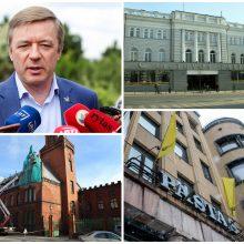 R. Karbauskis sako, kad centrinio pašto pastatus reikia išsaugoti visuomenei