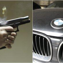 Vilkaviškio apylinkėse aidėjo šūviai, įkaušęs BMW vairuotojas partrenkė žmogų