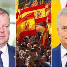 Šalies vadovai sveikina Ispaniją Valstybės dienos proga: mus vienija tvirti ryšiai
