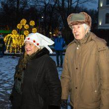 Kauną aplankė Trys karaliai: kada su miestu atsisveikins Kalėdų eglė?