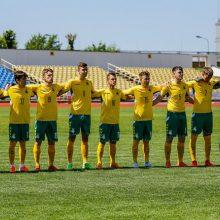 Lietuvos jaunimo futbolo rinktinei – dviguba išvyka