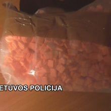Klaipėdos policija sulaikė narkotikų platinimu įtariamą mažeikiškį