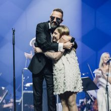 L. Adomaičio koncertas Klaipėdoje baigėsi piršlybomis