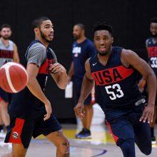 JAV krepšininkai nugalėjo australus