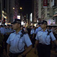 Honkongas: policija panaudojo ašarines dujas prieš demonstrantus