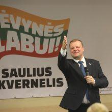 """""""Valstiečių"""" taryba balsuos ir dėl pasitikėjimo S. Skverneliu"""