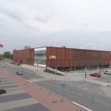 Apdovanotas naujasis Klaipėdos baseinas