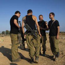 Izraelio kariai nukovė įtariamą palestinietį užpuoliką