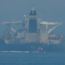 JAV paprašė konfiskuoti Gibraltaro sulaikytą Irano tanklaivį