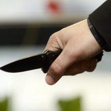 Neblaivus globos namų gyventojas peiliu kėsinosi įdurti darbuotojui