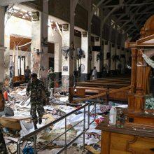 Šri Lankos sostinėje driokstelėjo naujas sprogimas, žuvo du žmonės