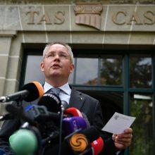 Sporto arbitražo teismas WADA ir RUSADA ginčą pradės nagrinėti balandį
