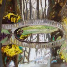 Klaipėdoje – S. Drebickaitės tapybos darbų paroda