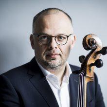 Sukaktis: prieš dešimtmetį Klaipėdos kameriniam orkestrui pradėjo vadovauti M. Bačkus