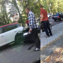 Girtas vairuotojas gatvėje kėlė sumaištį