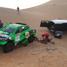 Naktį naują bolidą netikėtai išbandęs A. Juknevičius atskleidė Dakaro ateitį
