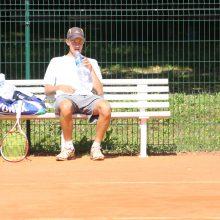 Tenisininkas J. Tverijonas Portugalijoje pateko į dvejetų varžybų finalą