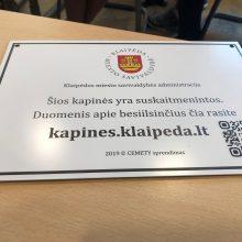 Klaipėdos kapinių skaitmenizavimui – 47 tūkst. eurų