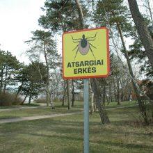 Vilniaus parkuose išbandomos erkių gaudyklės