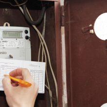Senuosius elektros skaitiklius pakeis išmanieji