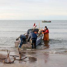 Žvejojantys Baltijos jūroje jau gali teikti paraiškas dėl paramos