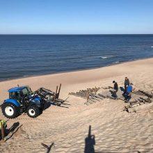 Klaipėdos pliažuose – daugiau naujovių