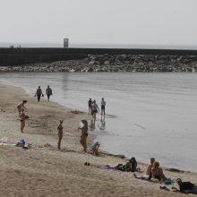 Išgelbėtas Baltijos jūroje skendęs vyras