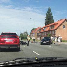 Tragiškas pirmadienis: Minijos gatvėje žuvo motociklo vairuotojas