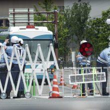 Japonijoje ruošiantis G-20 viršūnių susitikimui subadytas policininkas