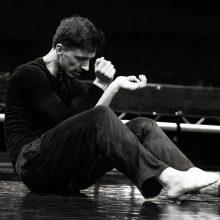 Šokėjas M. Černeckas: jeigu būtų lengva, visi galėtų šokti spektakliuose