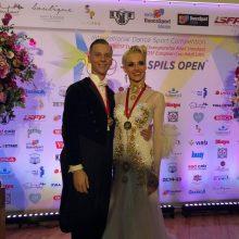 Šokėjai E. Sodeika ir I. Žukauskaitė – Europos čempionai