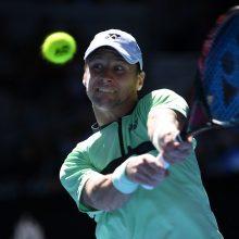 Tenisininkas R. Berankis pasaulio reitinge – 72-as