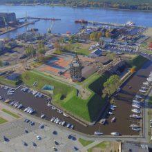 Pradedami Klaipėdos pilies didžiojo bokšto atkūrimo darbai