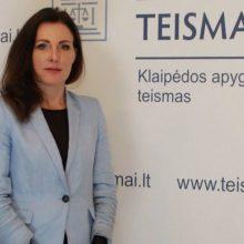 Klaipėdos apygardos teisme darbą pradeda teisėja K. Baškienė