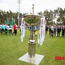 Ištraukti LFF taurės burtai