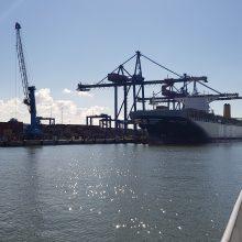 Konteineriai kelia uostus, bet yra ir abejonių
