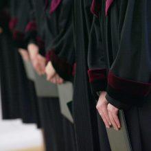 Toliau formuojama teisėjų savivalda