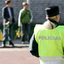 Rugsėjį policija išskirtinį dėmesį skirs vaikams ir jų saugumui