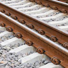 Vilniuje traukinys mirtinai traumavo vyrą
