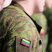 Tauragės rajone pratybų metu kariai rado maišą sprogmenų