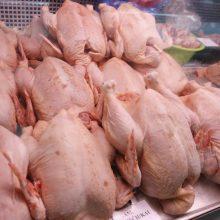 Šiemet uždrausta realizuoti beveik 80 tonų nesaugios vištienos