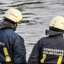 Neeilinė gelbėjimo operacija po Varnių tiltu: dalyvavo visos specialiosios tarnybos